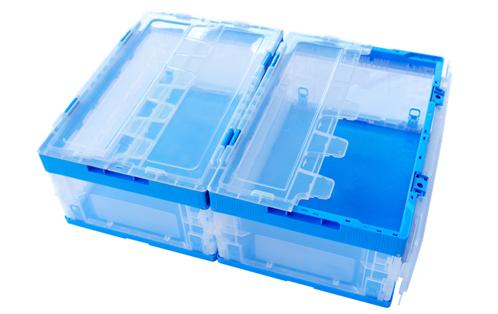 Collapsible Plastic Bin