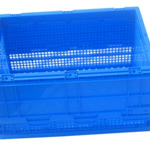 Durable foldable plastic storage box for wholesale