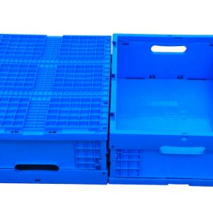 cheap plastic folding crate