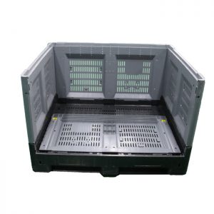 collapsible pallet bins