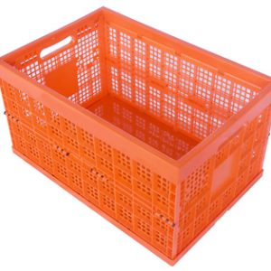 collapsible plastic storage crates