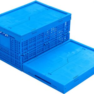 color customized foldable plastic container