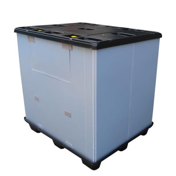 pallet storage bins