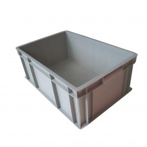 straight wall container solid stackable
